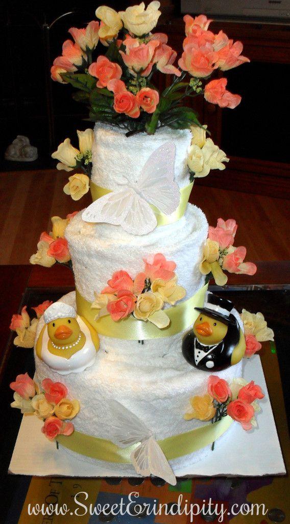 Ducky Towel Cake