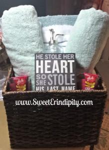 Bath Bridal Shower Basket!